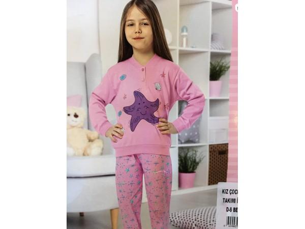 Пижама для девочки Aydogan арт. 1548