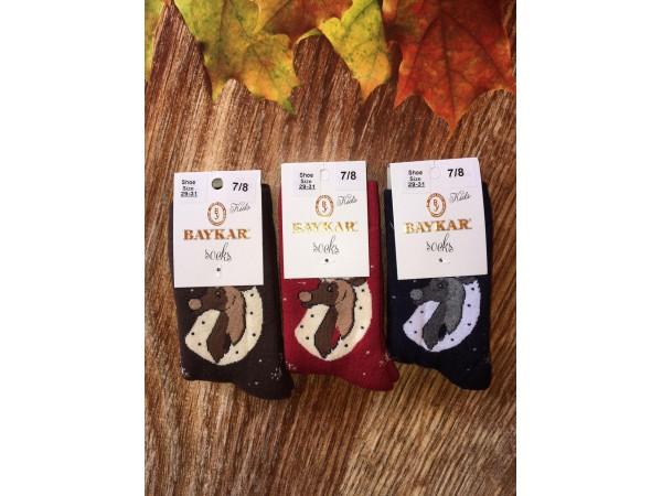 Детские носки для девочки - махровые Baykar арт. 7041-11