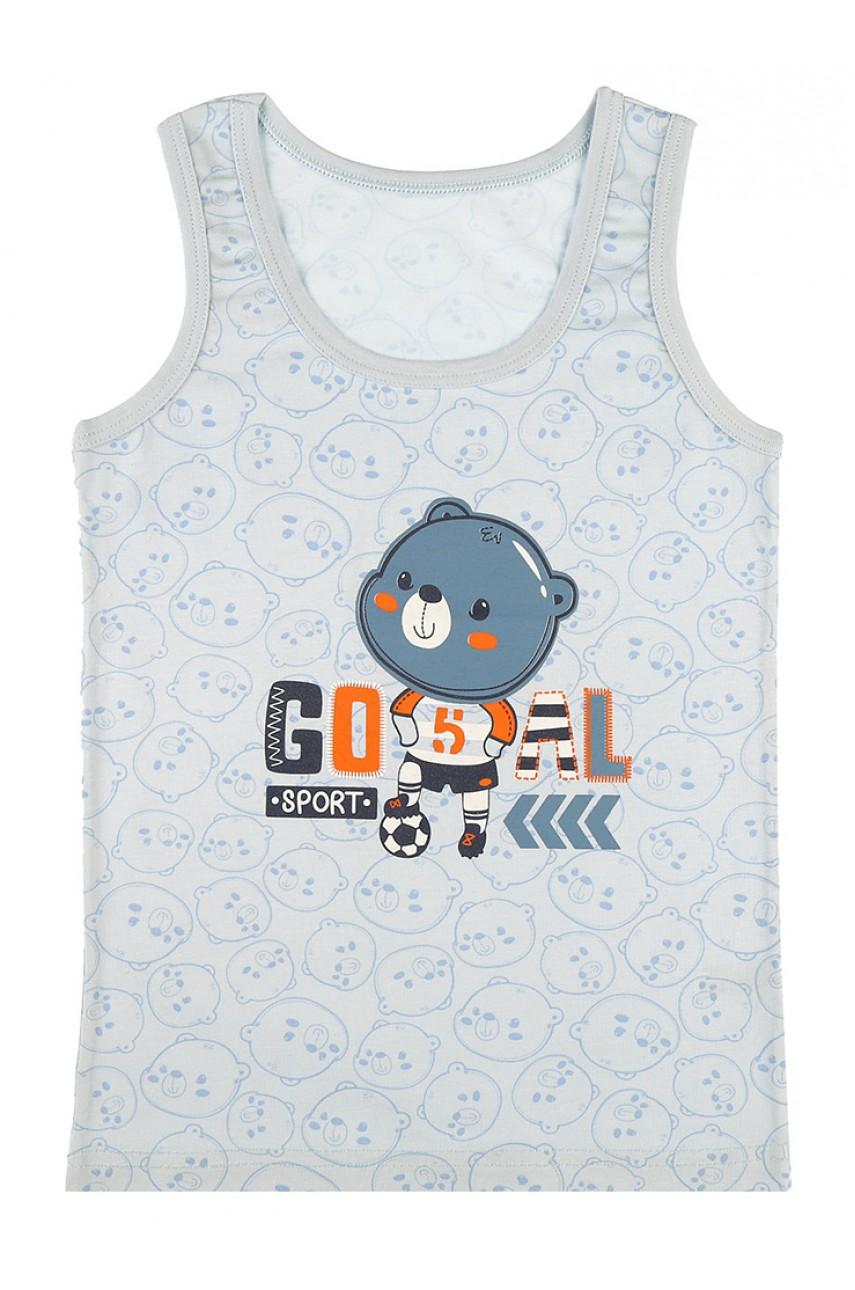 Детские майки для мальчиков Donella арт.77872GO