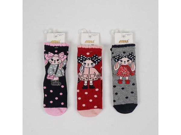 Детские носки для девочки ARTI_katamino арт. 200048