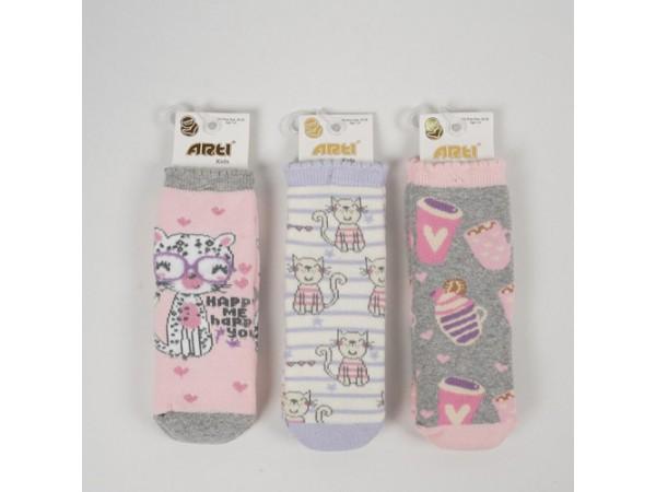 Детские носки для девочки - махровые ARTI_katamino арт. 250098