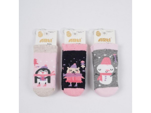 Детские носки для младенцов - махра ARTI_katamino арт.450076