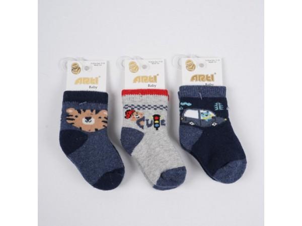 Детские носки для младенцов - махра ARTI_katamino арт. 450077