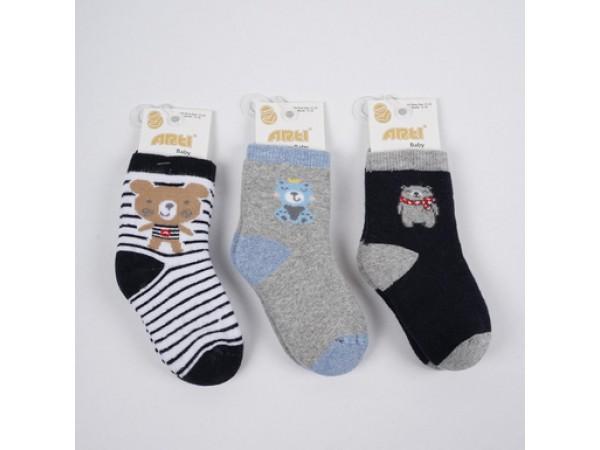 Детские носки для младенцов - махра ARTI_katamino арт. 450079