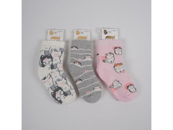 Детские носки для девочки - махровые ARTI_katamino арт. 250102