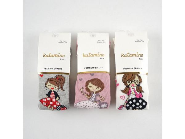 Детские колготы для девочки ARTI_katamino арт. k30128