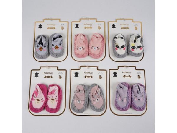 Детские чешки для младенцев - махра ARTI_katamino арт. k47001