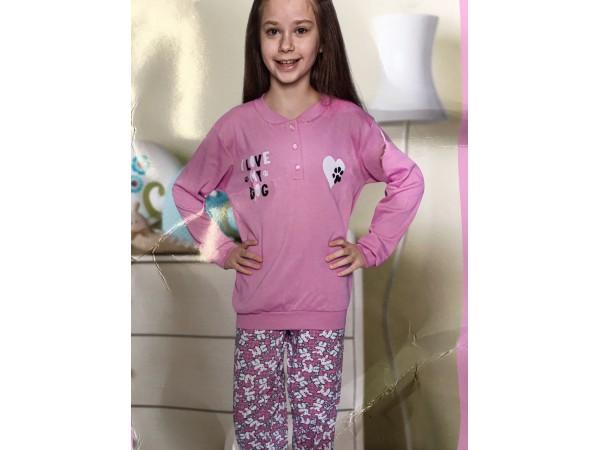 Пижама для девочки Aydogan арт. 2363
