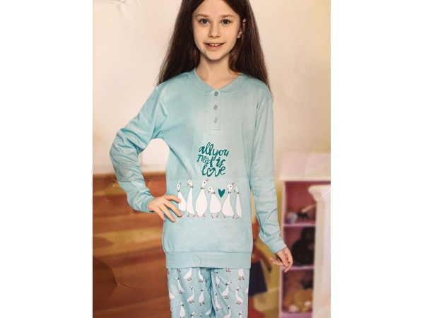 Пижама для девочки Aydogan арт. 2372