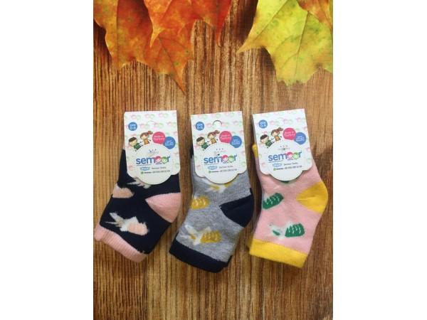 Детские носки- махровые для девочки Baykar арт. 7489-12