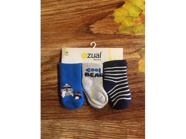 Детские носки для младенцов - махра Bross арт. 10109