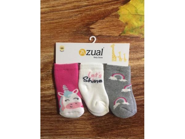 Детские носки для младенцов - махра Bross арт. 10122