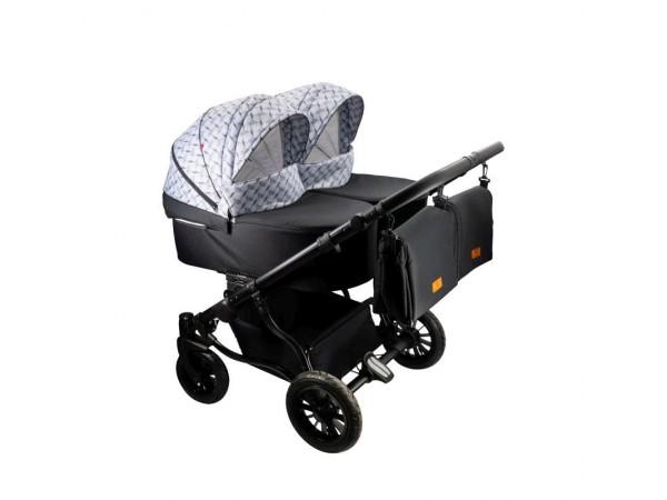 Детская коляска для двойни Adbor Duo Lux DL 01