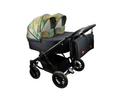 Детская коляска для двойни Adbor Duo Lux DL 03