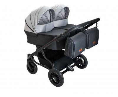 Детская коляска для двойни Adbor Duo Lux DL 06