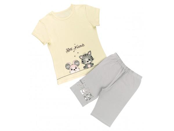 Пижама для девочки Donella арт. 10088