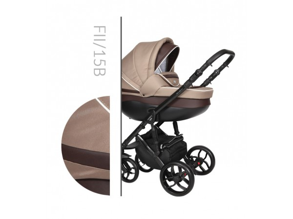Детская универсальная коляска 2 в 1 Baby Merc Faster Style 2 Fll/15B