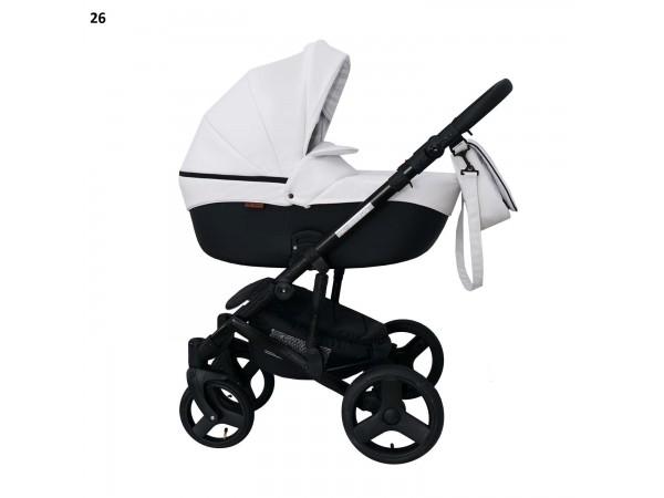 Детская универсальная коляска 2 в 1 Mikrus Genua 26