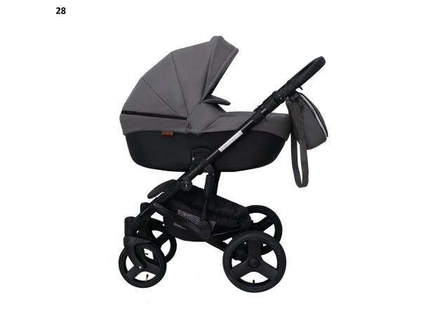 Детская универсальная коляска 2 в 1 Mikrus Genua 28