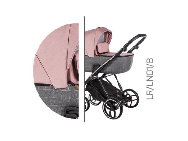Детская универсальная коляска 2 в 1 Baby Merc La Rosa LR/01B