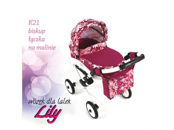 Коляска для кукол Adbor Lily K21
