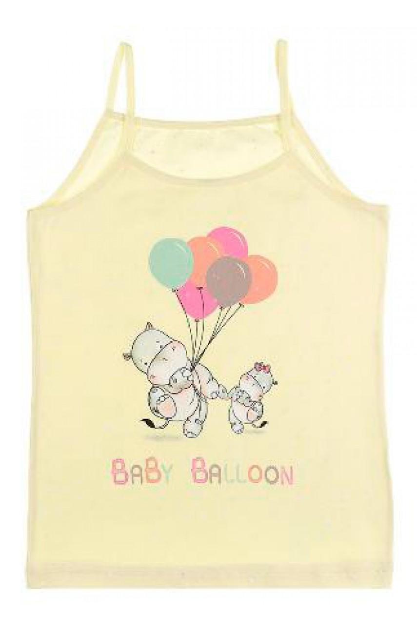 Детские майки для девочек Donella арт. 43640BB