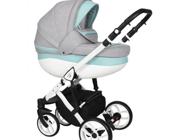 Детская универсальная коляска 2 в 1 Baby Merc Faster Style 2 FII/104C