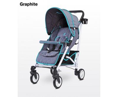Детская прогулочная коляска Caretero Sonata graphite