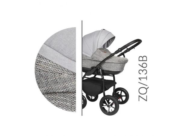 Детская универсальная коляска 2 в 1 Baby Merc Zipy Q ZQ/136B