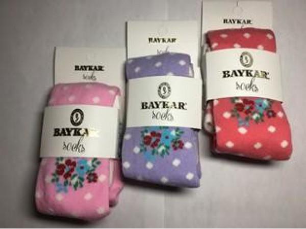 Детские колготы для девочки Baykar арт. 6328-13