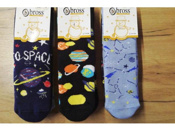 Детские носки для мальчика - махровые Bross арт. 18012