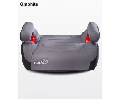 Десткое автокресло-бустер Caretero Puma isofix grey 15-36 кг
