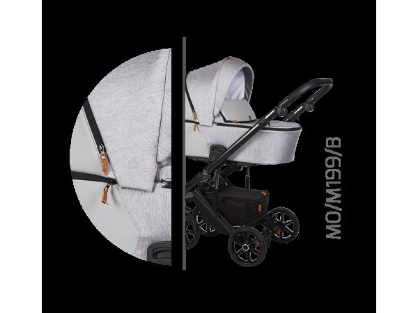 Детская универсальная коляска 2 в 1 Baby Merc Mosca MO/199B