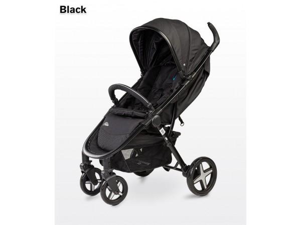 Детская прогулочная коляска Caretero Titan black