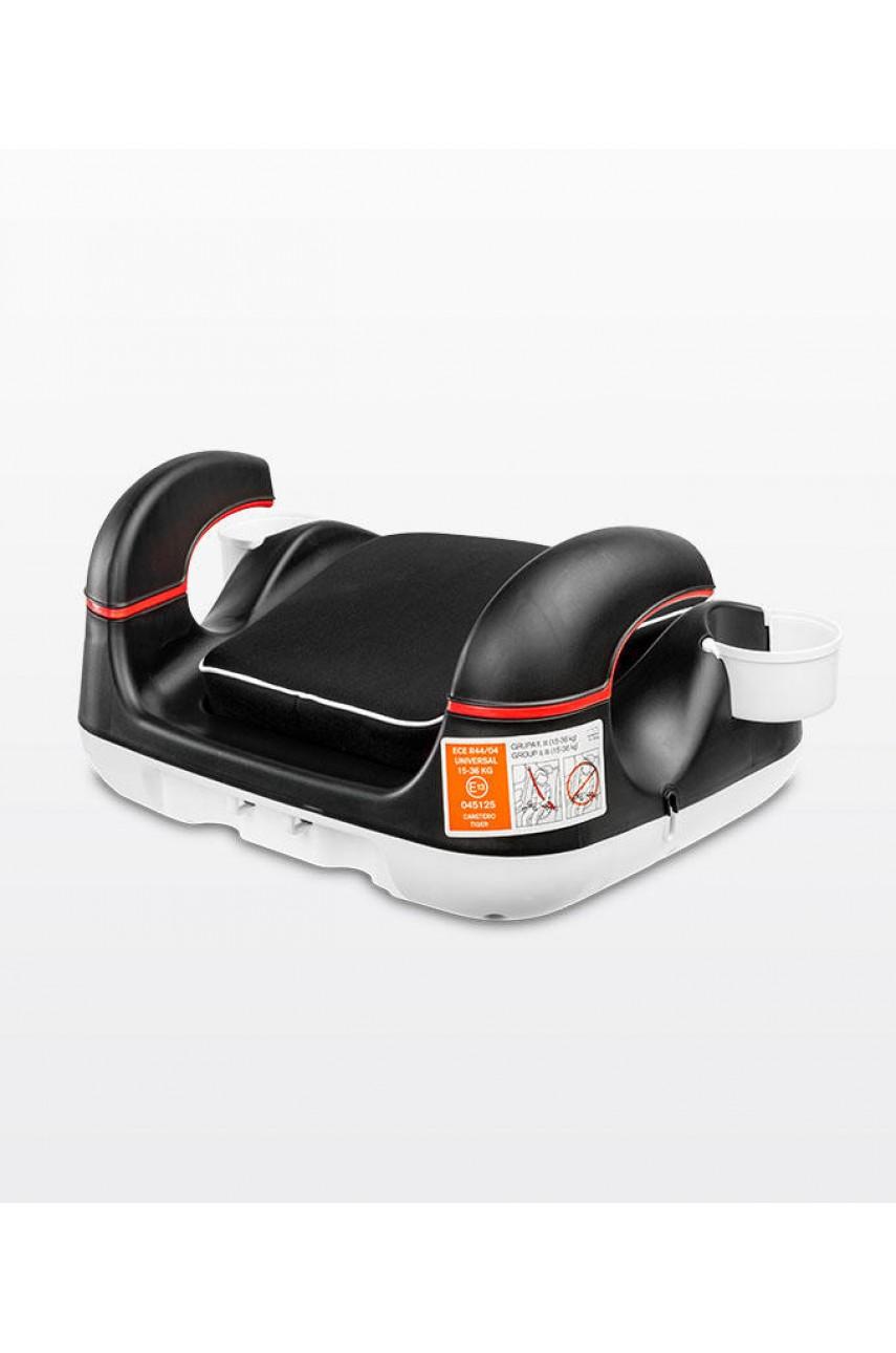 Детское автокресло-бустер Caretero Tiger black 15-36 кг
