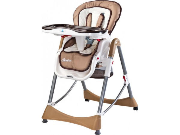 Детский стульчик для кормления Caretero Bistro