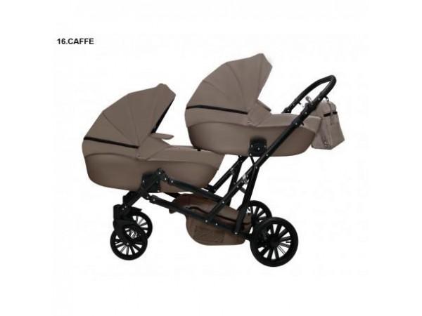 Детская коляска для двойни MIKRUS GEMELLO 16