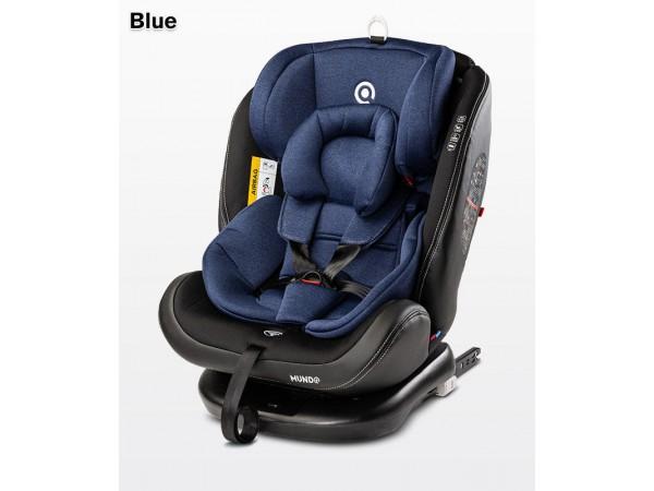 Детское автокресло Caretero Mundo isofix blue 0-36 кг