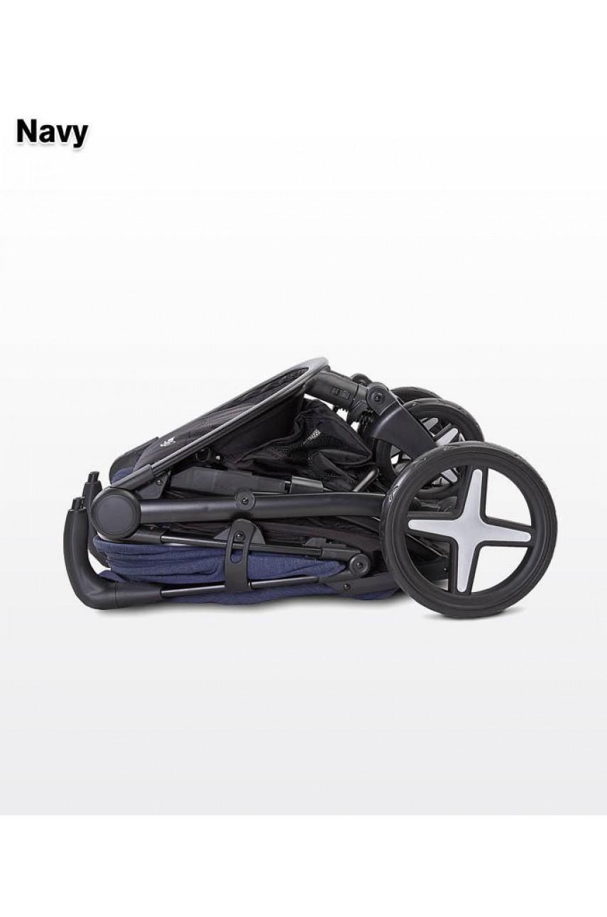Детская прогулочная коляска Caretero Titan mint