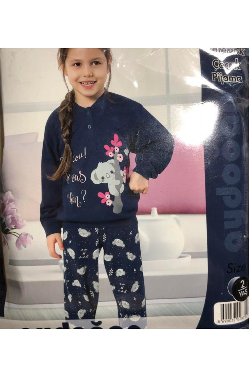 Пижама для девочки Aydogan арт. 1416