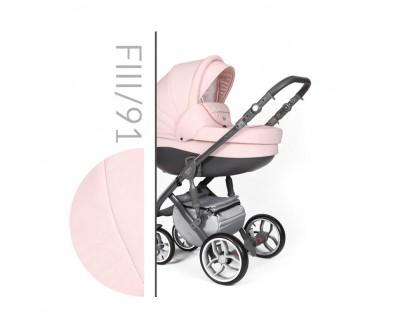 Детская универсальная коляска 2 в 1 Baby Merc Faster Style 3 Flll/91A