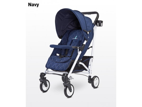 Детская прогулочная коляска Caretero Sonata navy