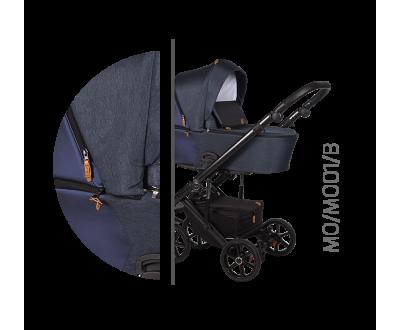 Детская универсальная коляска 2 в 1 Baby Merc Mosca MO/01B