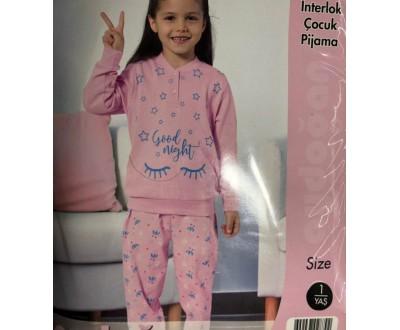 Пижама для девочки  Aydogan арт.  1380