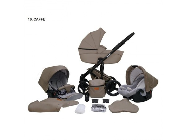Детская универсальная коляска 2 в 1 Mikrus Comodo 16