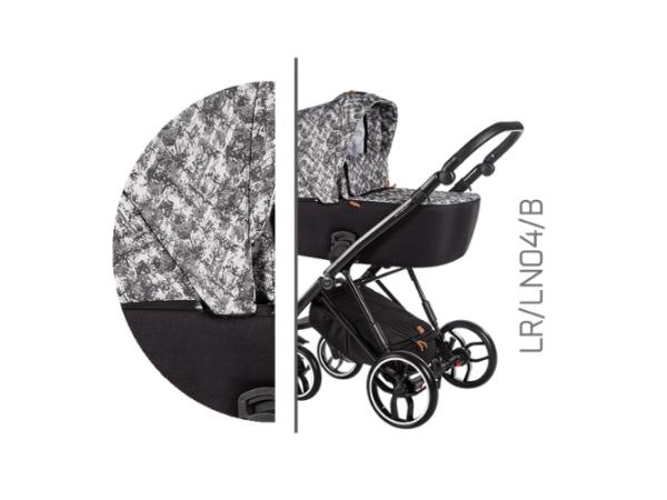 Детская универсальная коляска 2 в 1 Baby Merc La Rosa LR/04B