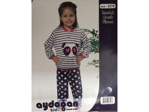 Пижама для девочки Aydogan арт. 2278