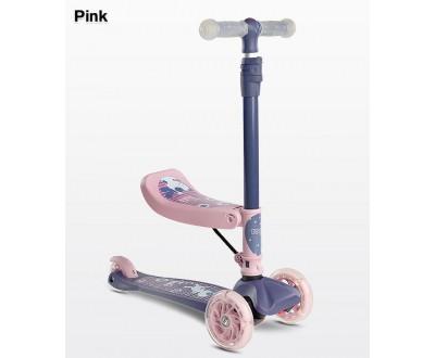 Самокат Caretero Tixi pink