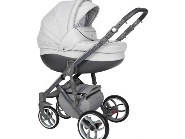 Детская универсальная коляска 2 в 1 Baby Merc Faster Style 3 Flll/102A