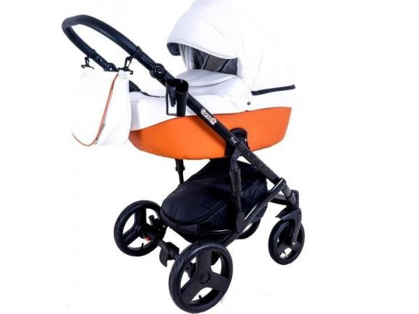 Детская универсальная коляска 2 в 1 Mikrus Genua 23